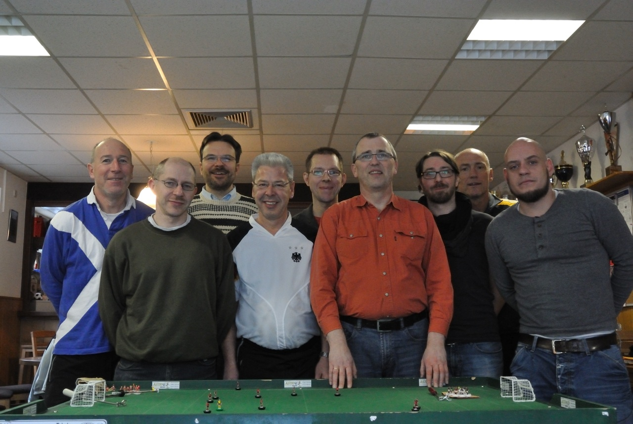Die Teilnehmer der südwestdeutschen         Einzelmeisterschaft 2012/13