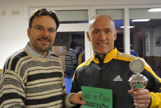 Siegerehrung: Thomas Winkler (rechts) ist         Südwest-Meister 2013!