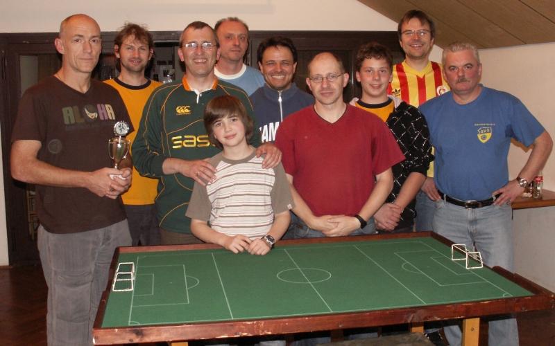 Teilnehmer des Herbstcups 2008
