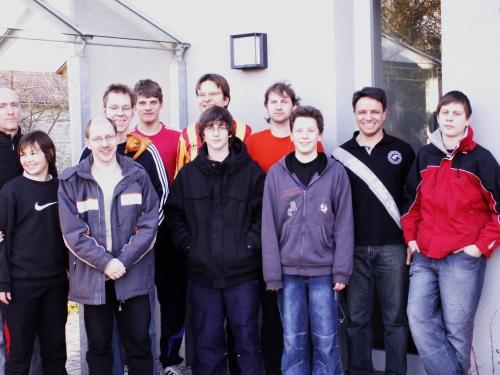 Die Teilnehmer an der Südwest-EM 2007/08